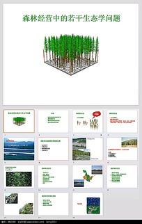 生态研究进程PPT模板