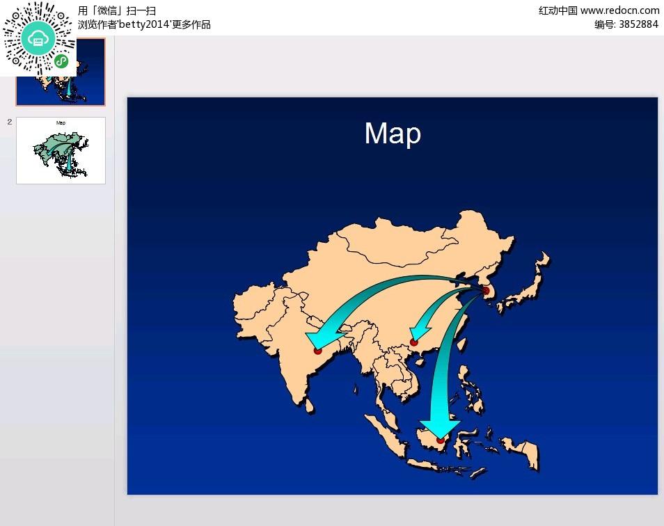 中国地图辐射范围图