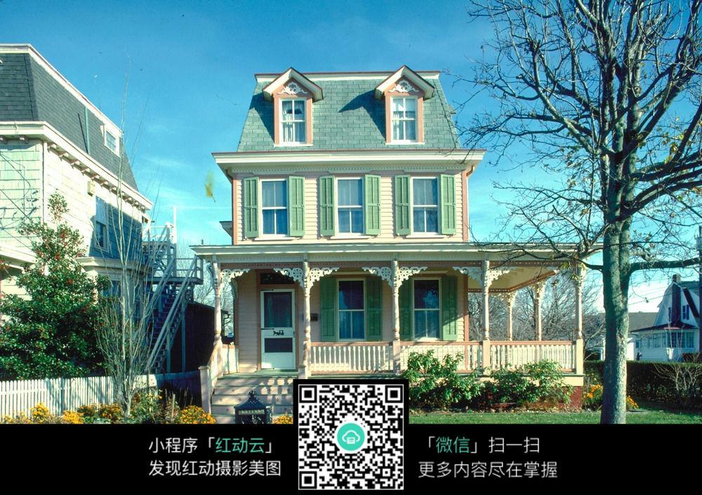 别墅建筑素材图片