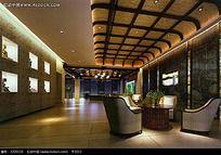 典雅时尚餐厅咖啡厅效果图片