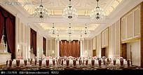 欧式奢华公共用餐区效果图片