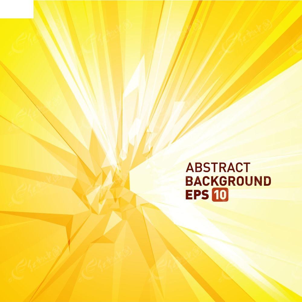 黄色色块矢量商业背景EPS素材免费下载 编号3938344 红动网图片