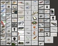3D景观小品素材集合max
