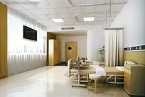 医院住院部病房效果图max