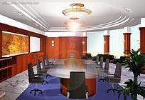 会议室效果图max