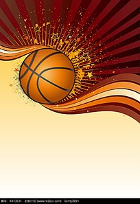 篮球矢量素材