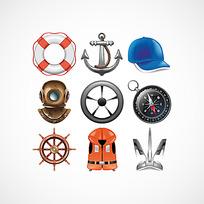 航海主题图标