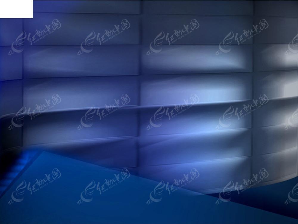蓝色长方形透视光影图案3d材质贴图素材jpg