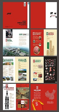 恒都农业宣传画册