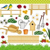 农业类鼠绘图形设计