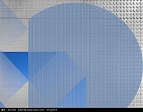 灰色蓝色块叠加方块底图3D贴图素材jpg