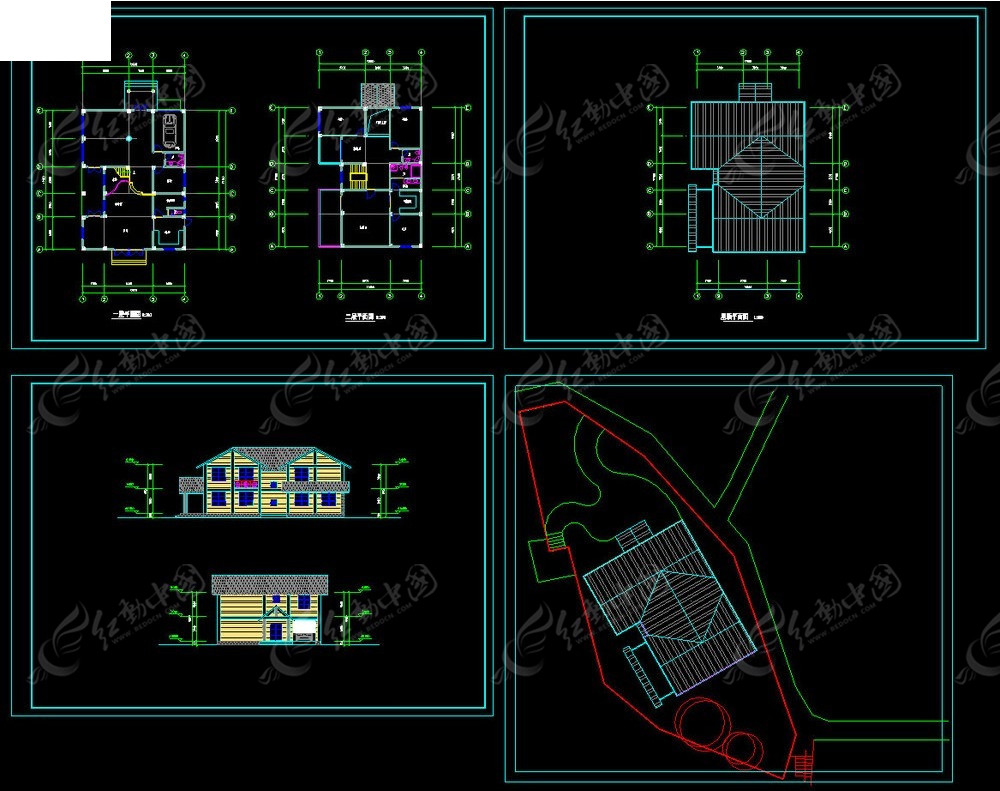 木构别墅设计方案图
