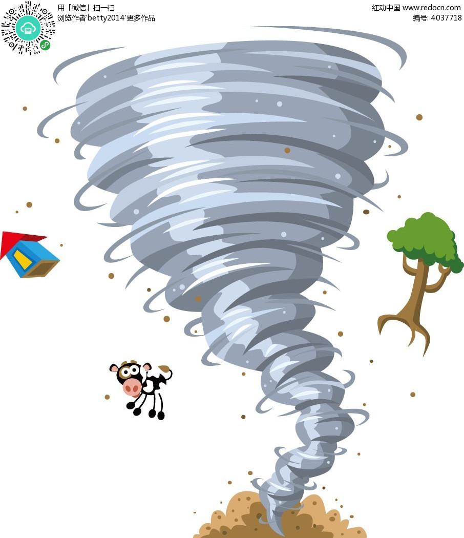 肆虐的龙卷风