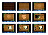 大自然森林flash房产动画片头