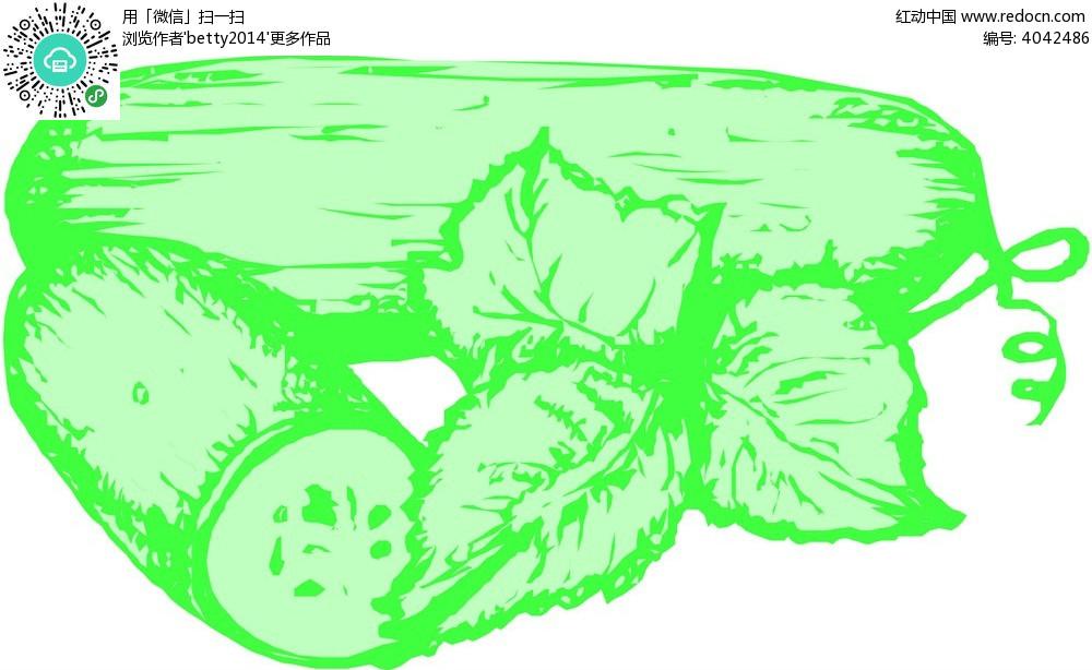 冬瓜手绘线描画