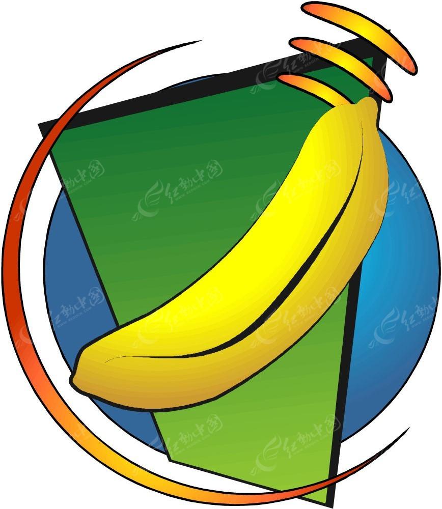 香蕉手绘插画