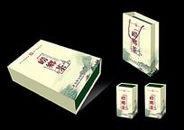 崂鄉茶产品外包装设计