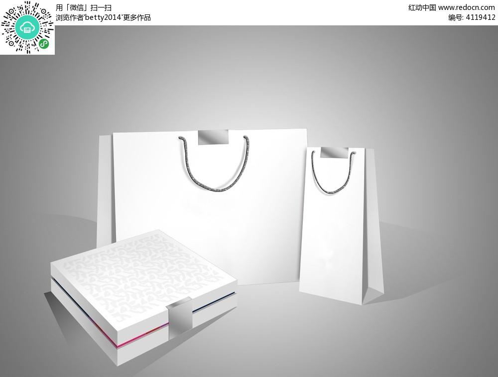 免费素材 psd素材 psd广告设计模板 手提袋|手袋 产品礼盒包装盒及图片