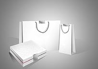 产品礼盒包装盒及手提袋设计