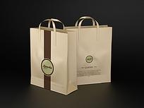 咖啡外卖手提袋设计