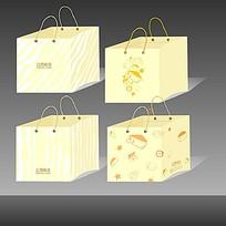 清新素雅手提袋包装设计