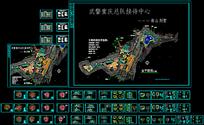 武警重庆总队南山别墅设计CAD图纸