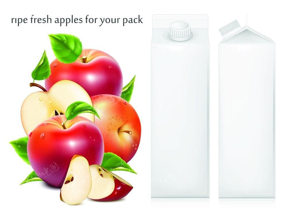 苹果汁饮料包装图片