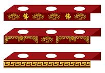 中国古典花纹边框包装设计素材