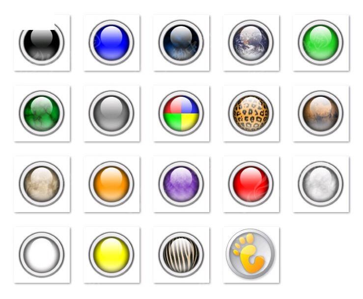 红色水晶按钮素材_彩色水晶质感圆形按钮其他素材免费下载_红动网