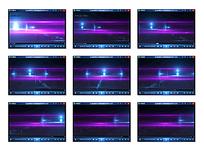 紫色流光动态视频