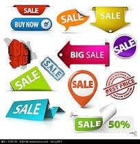 网店促销活动广告标签设计
