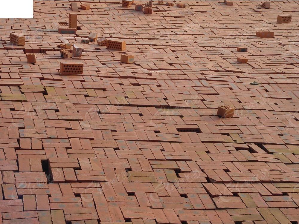 红砖地面3d材质贴图