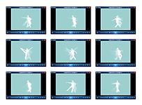 芭蕾舞姿势Flash视频