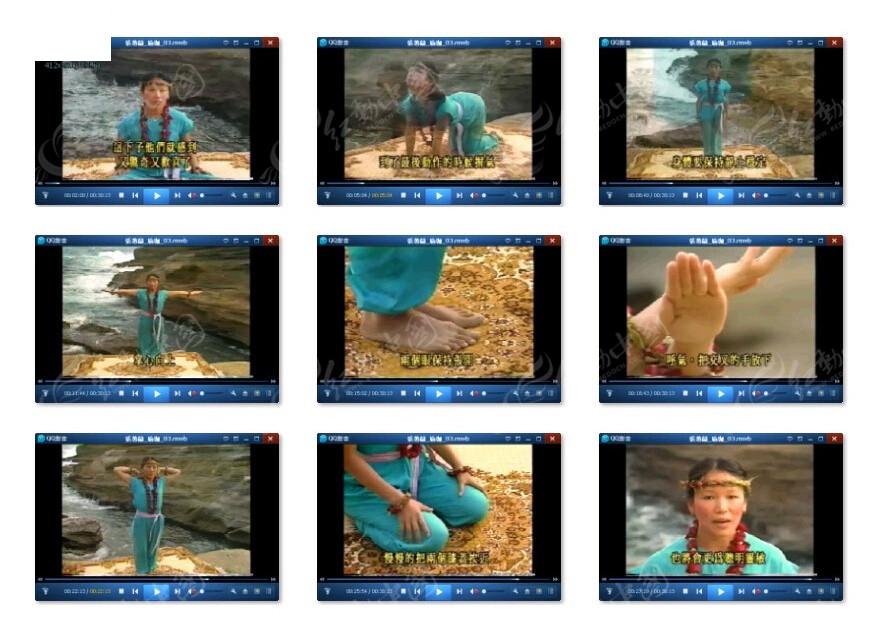 肩颈瑜伽教程素材视频视频视频线排挡素材图片
