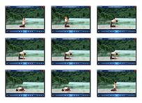 户外瘦身瑜伽视频