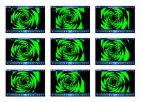 绿色漩涡动态视频
