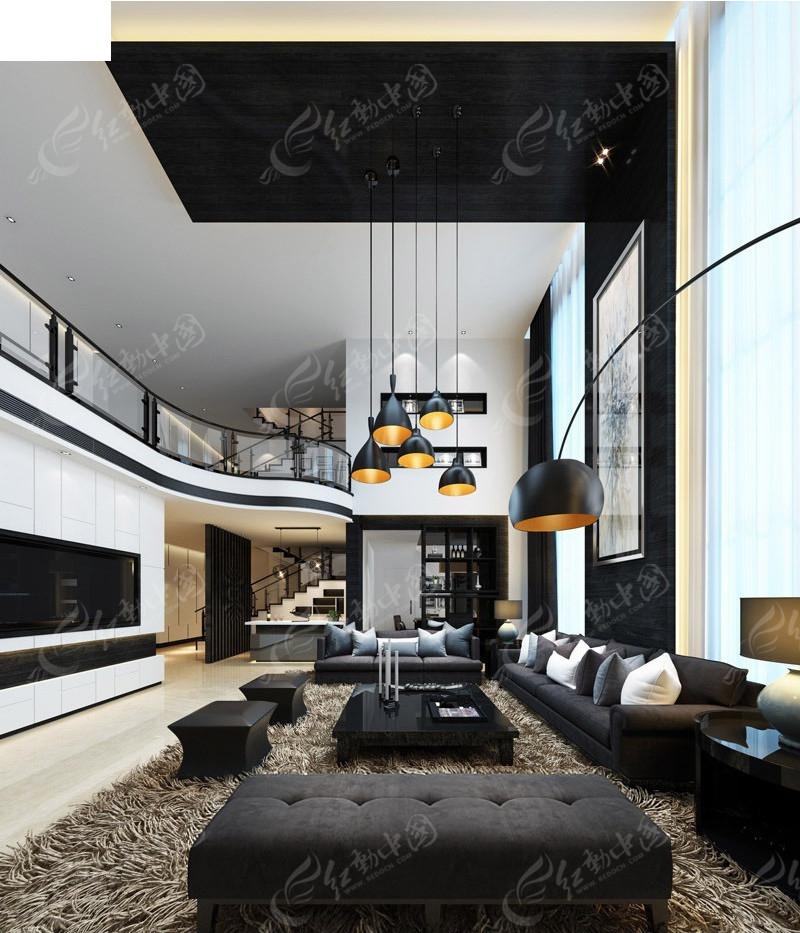 免费素材 3d素材 3d模型 室内设计 复式别墅简约效果图  请您分享: 素图片