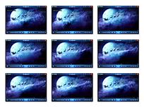月亮圣诞夜视频