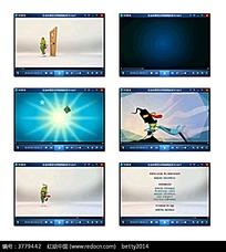 卡通广告创意视频