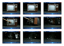 电视机破碎视频