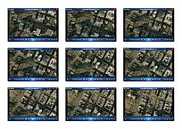俯拍社区建筑视频