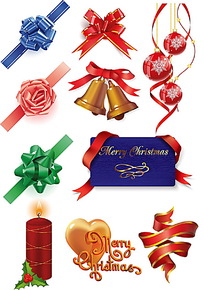 圣诞节卡通小图标