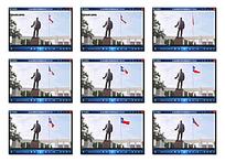 国外人物雕像视频