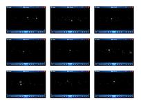 黑暗中的雪花视频素材