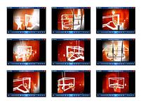 火焰篮球框视频
