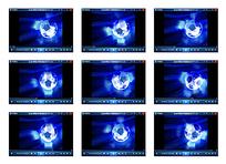 蓝色火焰足球视频