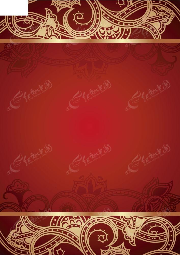 花纹边框矢量背景EPS素材免费下载 编号3924748 红动网