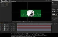 AE界面剪辑视频