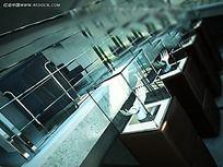 工艺品展厅效果图