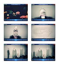创意线条广告视频